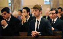 seminarians in church