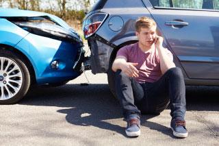 man injury-accident