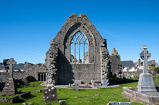 Athenry Priory East Window courtesy of Andreas F. Borchert via Wikimedia Commons